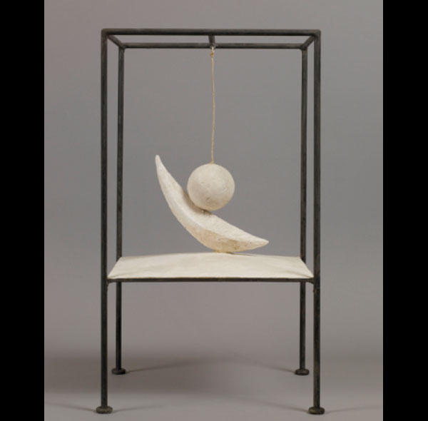 La bola suspendida-Alberto Giacometti