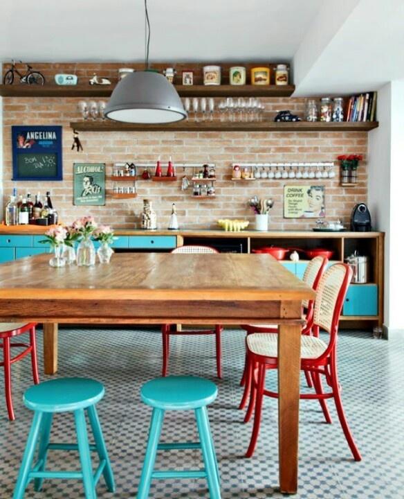 decorar cocina vintage