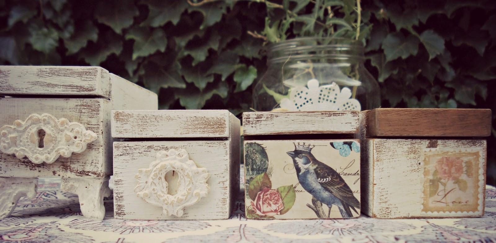 Una caja de madera vintage - Cajas de mader ...