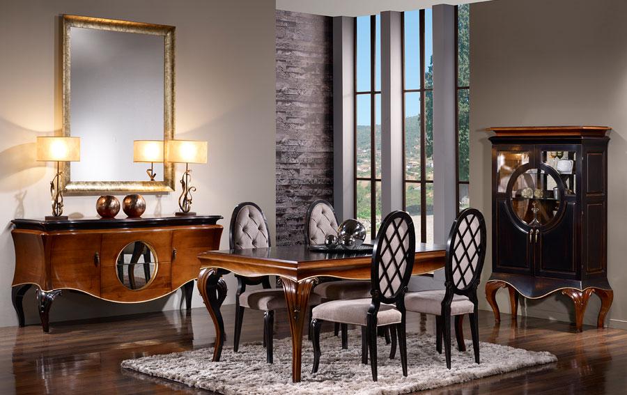 Comedor vintage for Decoracion para muebles de comedor