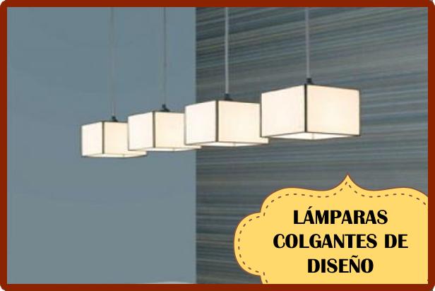 Lámparas colgantes de diseño vintage