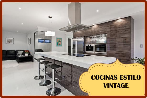 Cocina con estilo vintage