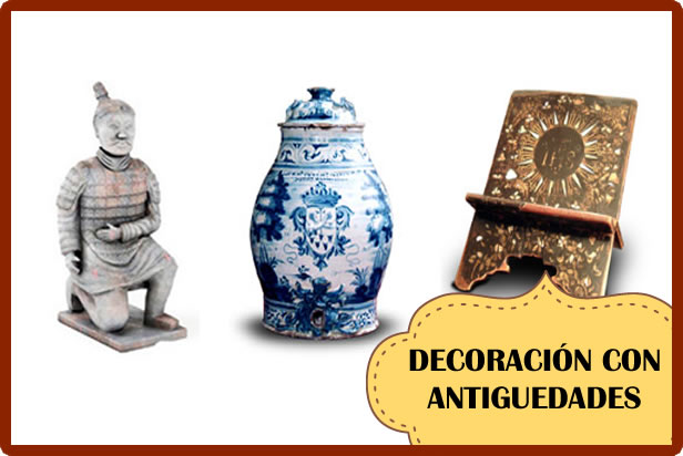 Decoración Vintage con Antiguedades
