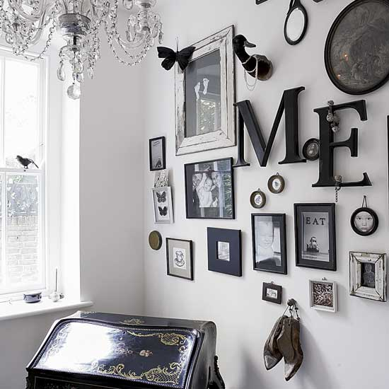 Black Wall Design Ideas : Colores vintage b?sicos