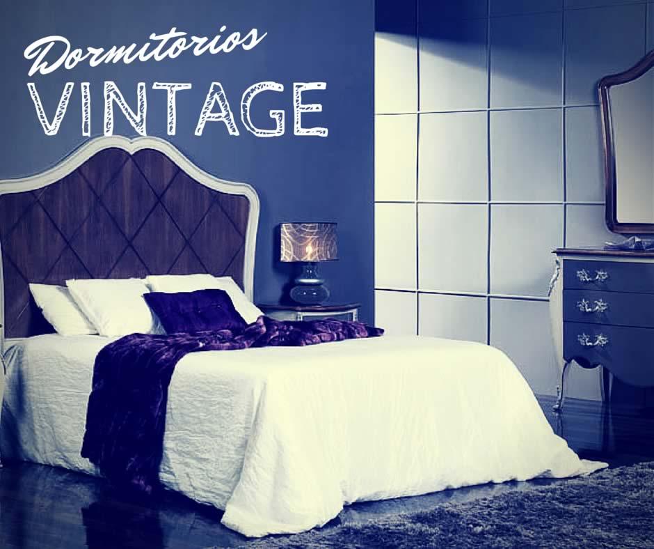 dormitorio con estilo vintage