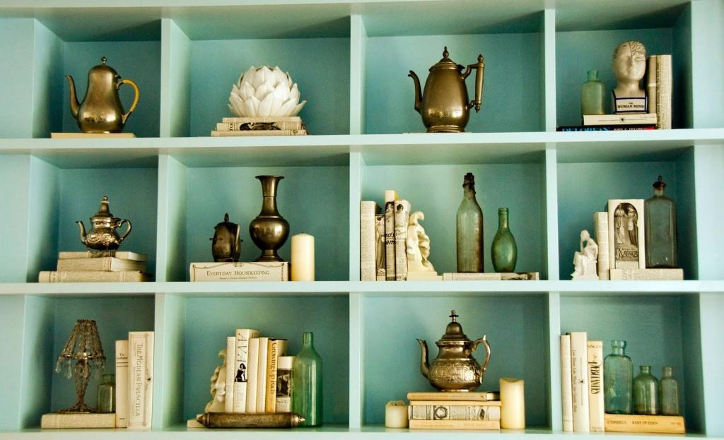 objetos vintage para decorar
