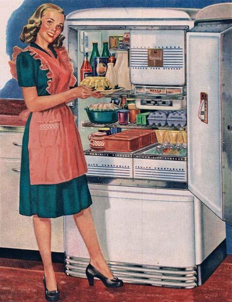 El Frigidaire: La nevera de los 60 que algunos conservan!!