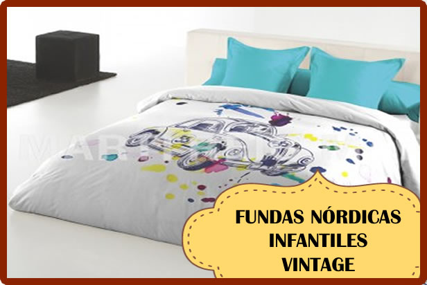 Decoración con Fundas Nórdicas con estilo vintage | Con Estilo Vintage