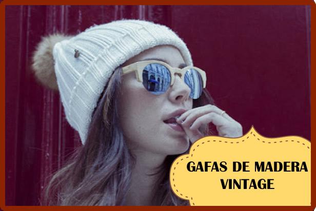 Gafas de madera vintage, el complemento perfecto para tu outfit