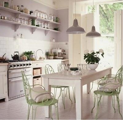 Decorar cocina vintage - Cortinas estilo vintage ...