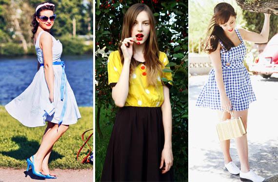Cómo vestir con estilo vintage
