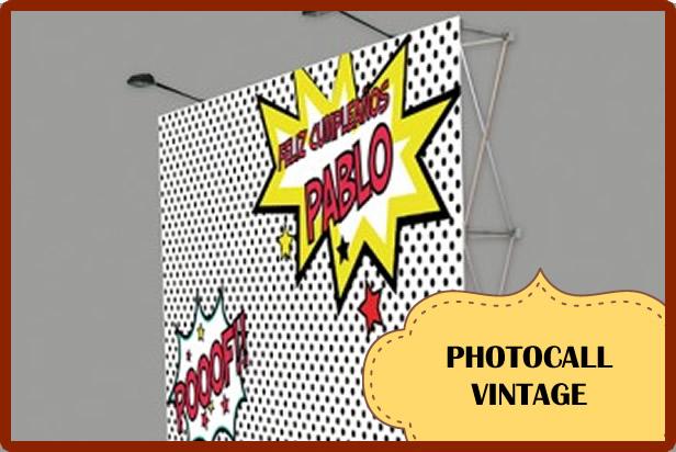 Photocall Vintage o Retro: Sácale jugo a las fotos de tu evento