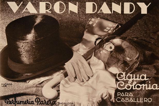 publicidad años 60 varon dandy