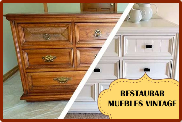 Ideas para restaurar muebles antiguos top with ideas para for Vendo muebles antiguos para restaurar