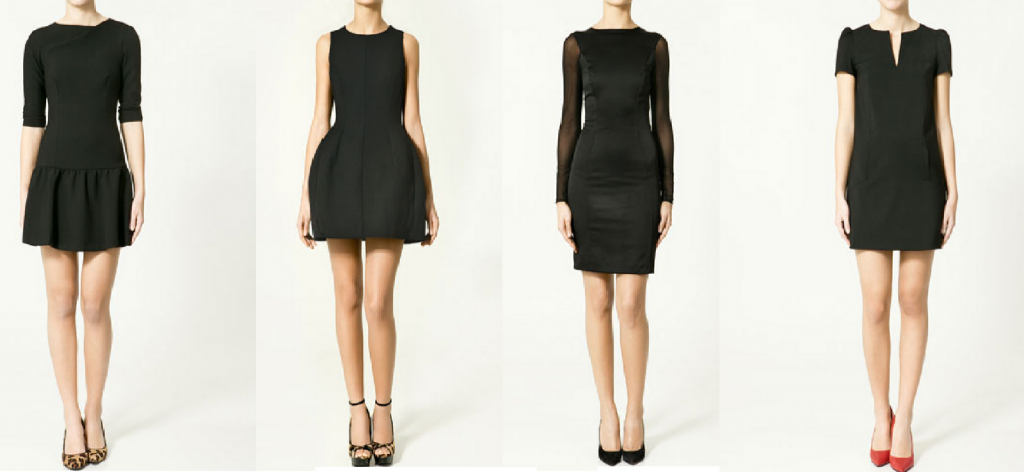 lbd vestido negro vintage